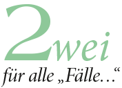 Logo 2 Fuer Alle Faelle in Home
